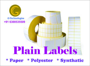 plain labels